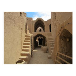 Postal Postcard Sassanid Fortress at Saryazd, Iran