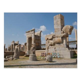 Postal Postcard - The Ruins of Persepolis, Iran