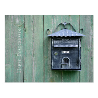 Postal ¡Postcrossing feliz! Buzón