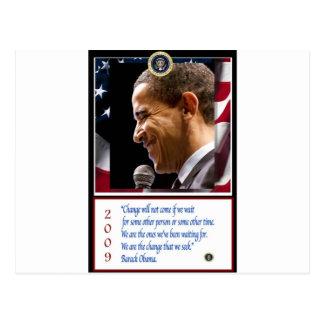 Postal Poster de Barack Obama
