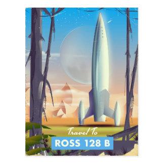 Postal Poster de la ciencia ficción de Ross 128 B