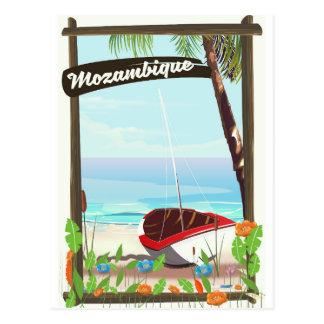 Postal Poster de las vacaciones del dibujo animado del