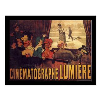 Postal Poster del cine de Lumière
