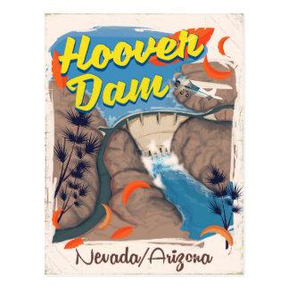 Postal Poster del viaje del Preso Hoover Nevada/de