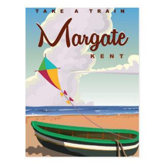 Postal Poster del viaje del vintage de Margate Kent
