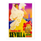 Postal Poster justo 1955 de España Sevilla abril