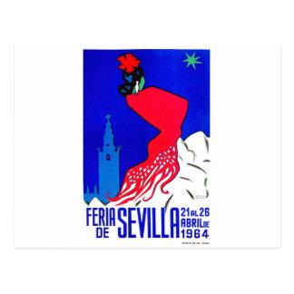 Postal Poster justo 1964 de España Sevilla abril