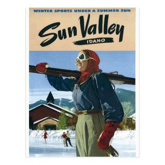 Postal Poster los E.E.U.U. del viaje del vintage de Idaho