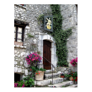 Postal Poterie de la Tour en el La Turbie, Francia