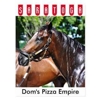 Postal Potro del imperio de la pizza de los Dom