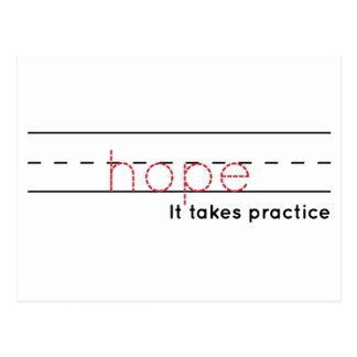 Postal práctica de la esperanza el |