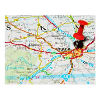 Postal Praga, Praga en República Checa