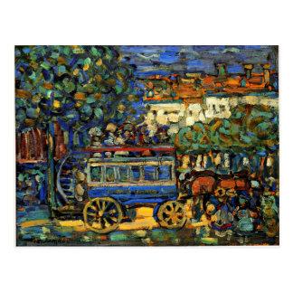 Postal Prendergast - Omnibus de París