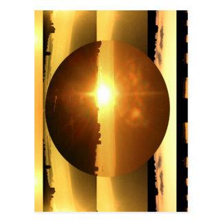 Postal Presentación artística de la LUNA del SOL n