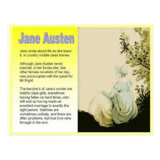 Postal Presentar a Jane Austen