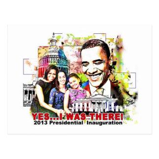 Postal presidencial de la inauguración de Obama