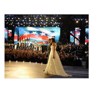 Postal Presidente Barack y Micaela Obama