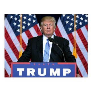 Postal Presidente Donald Trump