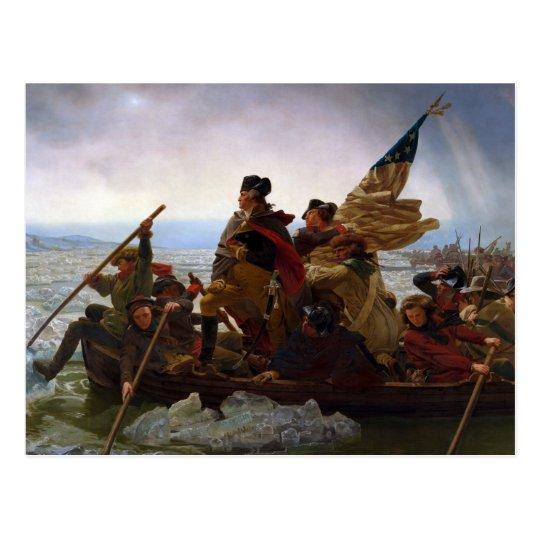 Postal Presidente George Washington del vintage la