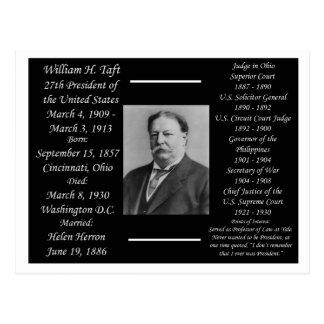 Postal Presidente Guillermo H Taft