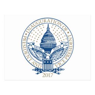 Postal Presidente Inaugural Logo Inauguration de los