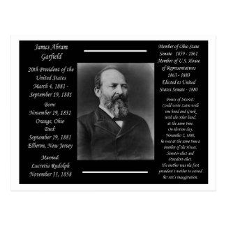 Postal Presidente James Garfield