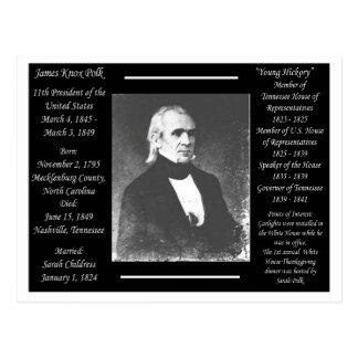 Postal Presidente James K Polk