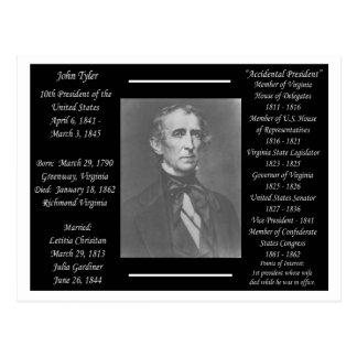 Postal Presidente John Tyler