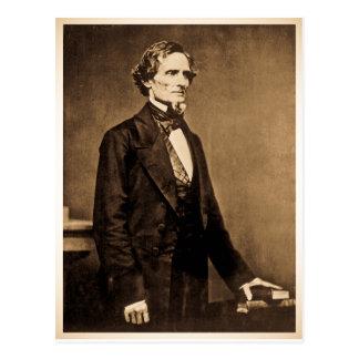 Postal Presidente meridional Jefferson Davis