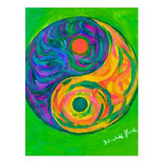 Postal Primavera de Yin Yang