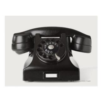 Postal Primer de un teléfono rotatorio
