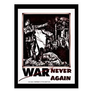 Postal Primera Guerra Mundial centenaria dramática nunca