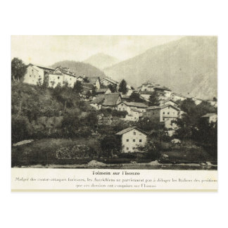 Postal Primera Guerra Mundial, ciudad austríaca