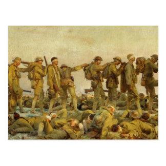 Postal Primera Guerra Mundial de John Singer Sargent del