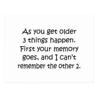 Postal Primero la memoria va