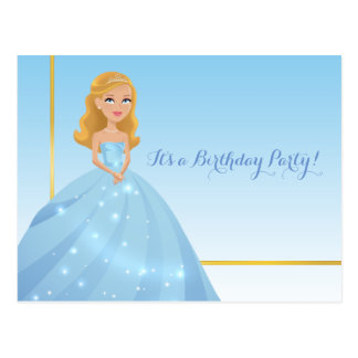 Postal Princesa Postcard