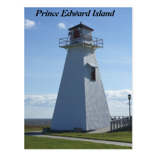 Postal Príncipe Edward Isla-Faro
