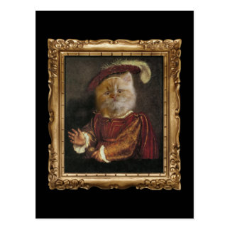 Postal Príncipe real Kitty Framed Portrait Postcard