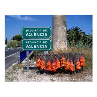 Postal Principio de la región de Valencia