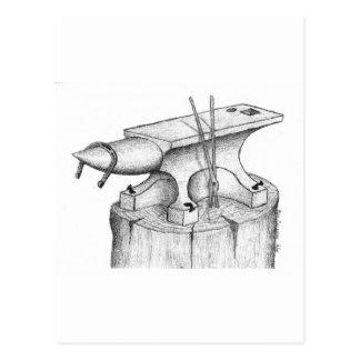 Postal Productos del herrero y del herrador