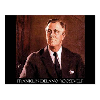 Postal Productos del personalizable de Franklin Delano