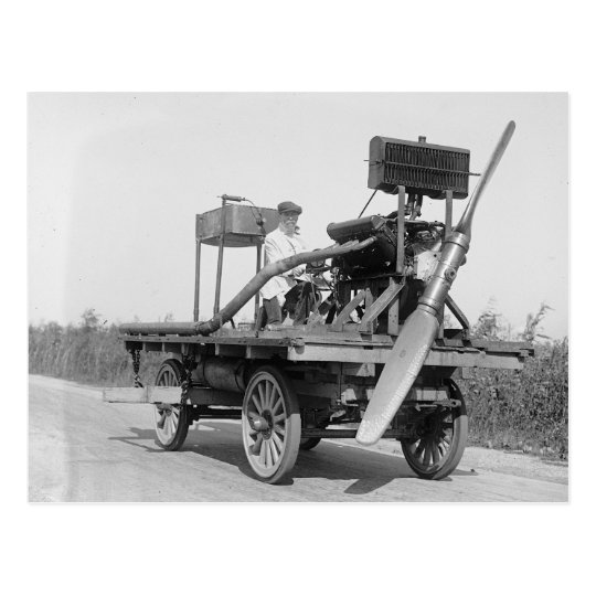 Postal Propulsor extraño Vehicle, 1922