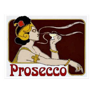 Postal Prosecco, el sorber de la mujer
