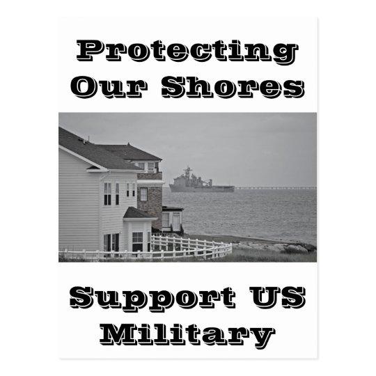 """Postal """"Protegiendo colección de nuestras orillas"""""""