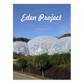 Postal Proyecto de Eden