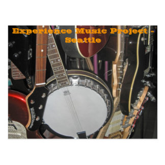 Postal Proyecto de la música de la experiencia - Seattle