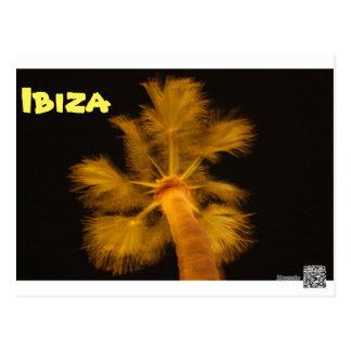 Postal psicodélica de Ibiza