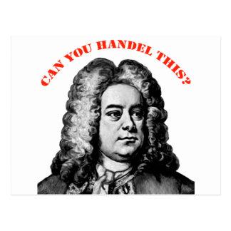 Postal Puede usted Handel esto
