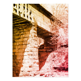 Postal Puente cubierto