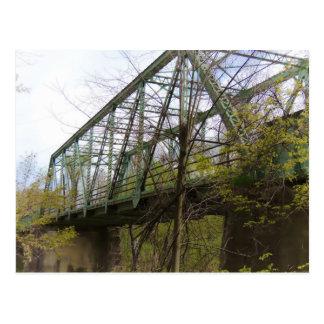 Postal Puente de acero viejo